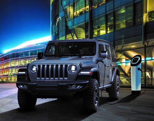 New Jeep® Wrangler 4xe Plug-in Hybrid