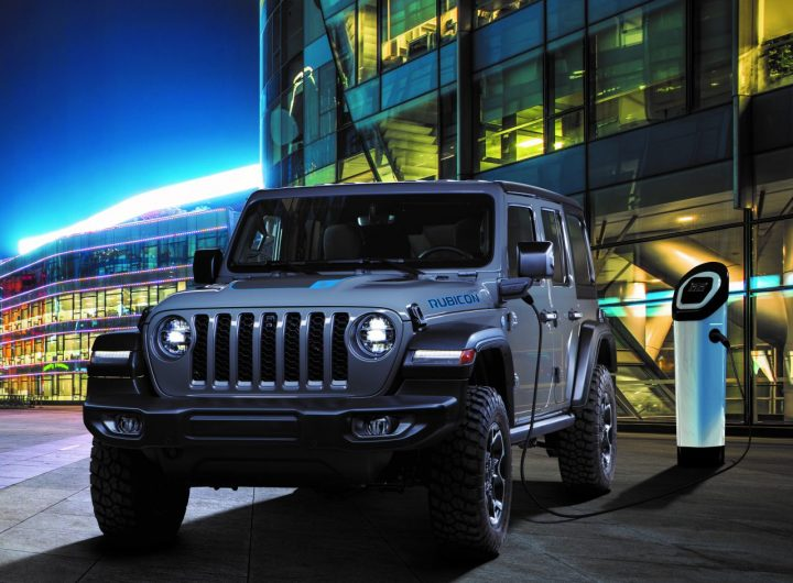 New Jeep® Wrangler 4xe Plug-in Hybrid